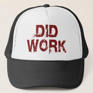 Did Work Hat