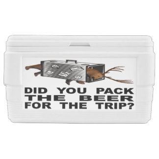 Did You Pack The Beer For The Trip? Ice Chest