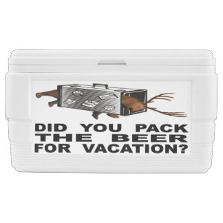 Did You Pack The Beer For Vacation? Chest Cooler
