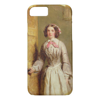 'Did you ring, Sir?', 1854 (oil on canvas) iPhone 7 Case