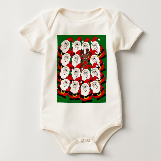 Did you see Rudolph? Baby Bodysuit