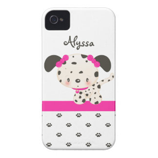 Diddles Dalmatian iPhone 4/4S Case-Mate Pink iPhone 4 Cases
