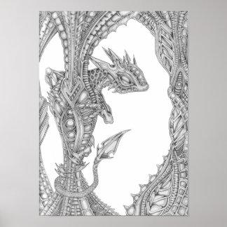 Diddy Dragon Pod Poster