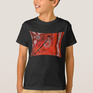 DIDJERIDOO PLAYER Tshirt by Mundara