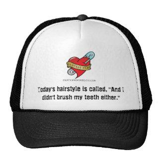 Didn't Brush My Hair Hat w/ Logo