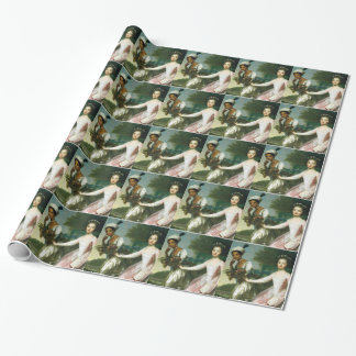 Dido Elizabeth Belle and Lady Murray Wrapping Paper