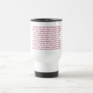 Dido's Death Speech Travel Mug