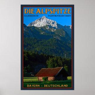 Die Alpspitze Poster