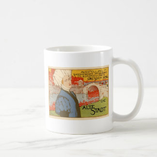 Die Alte Stadt by Otto Fischer Classic White Coffee Mug