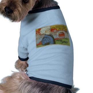 Die Alte Stadt by Otto Fischer Doggie T Shirt