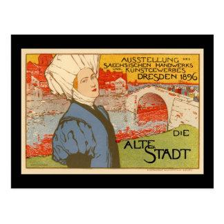 Die Alte Stadt by Otto Fischer Postcard
