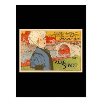 Die Alte Stadt by Otto Fischer Postcards