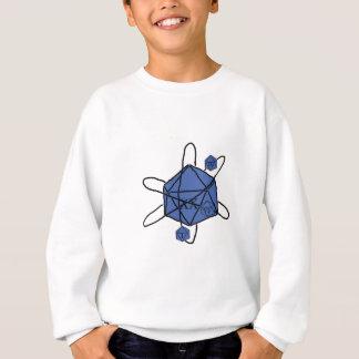 Die-Atom(Black,Blue) Sweatshirt