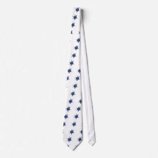 Die-Atom(Black,Blue) Tie