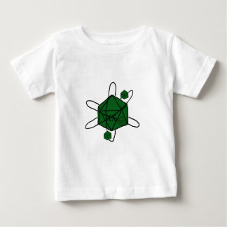 Die-Atom(Black,Green) Baby T-Shirt