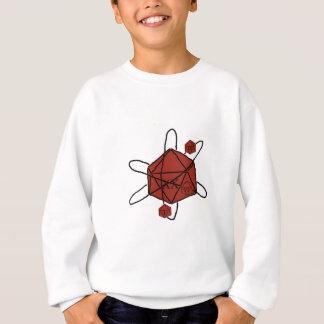 Die-Atom(Black,Red) Sweatshirt