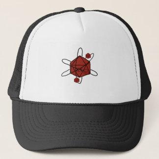 Die-Atom(Black,Red) Trucker Hat