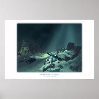 Die Befreiung des Pegasus Poster