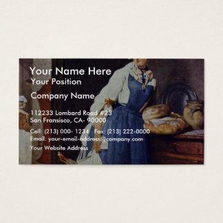 Die Besorgerin By Chardin Jean-Baptiste Siméon (Be Business Card