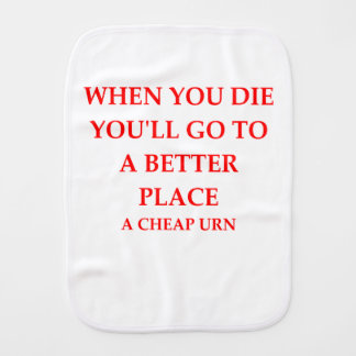 DIE BURP CLOTH