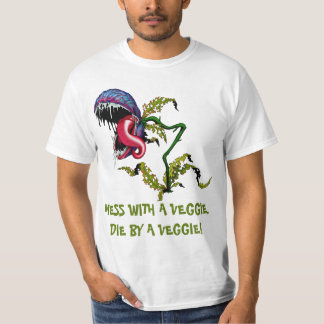 DIE BY A VEGGIE: CARNIVOROUS PLANT T-Shirt