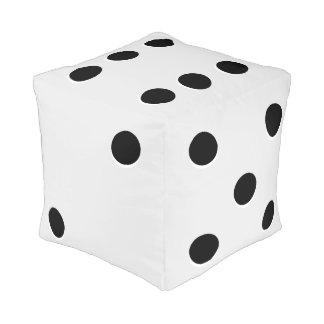 Die Dice Cube Pouf