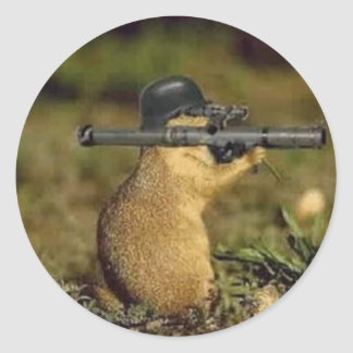 Die Fox Die Classic Round Sticker