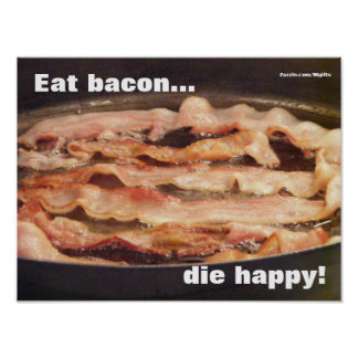 Die Happy Poster