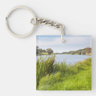 Die Havel bei Quitzöbel Single-Sided Square Acrylic Keychain