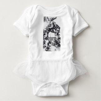 Die_Hexe_(Albrecht_Dürer) Baby Bodysuit