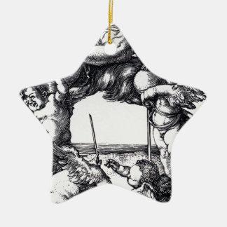 Die_Hexe_(Albrecht_Dürer) Ceramic Ornament