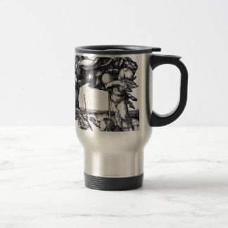 Die_Hexe_(Albrecht_Dürer) Travel Mug