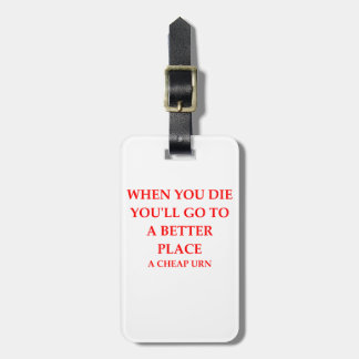DIE LUGGAGE TAG