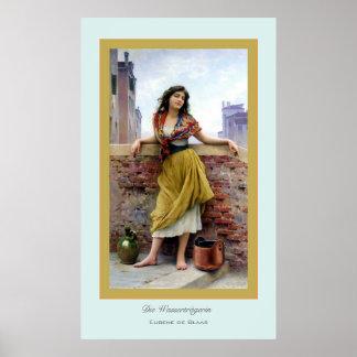 Die Wasserträgerin ~ Eugene de Blass Poster