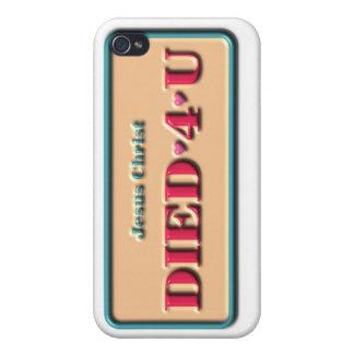 DIED 4 U iPhone Case