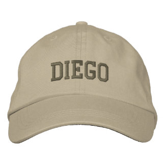 Diego Name Embroidered Baseball Cap / Hat