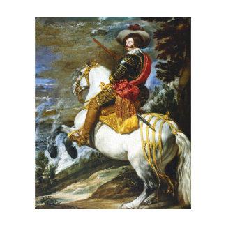Diego Velázquez Don Gaspar de Guzmán Canvas Print