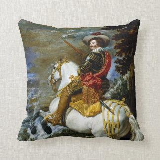 Diego Velázquez Don Gaspar de Guzmán Throw Pillow
