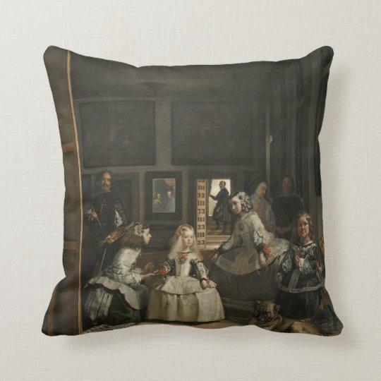 Diego Velazquez Las Meninas Throw Pillow