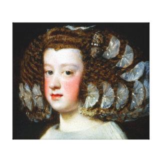 Diego Velázquez María Teresa, Infanta of Spain Canvas Print