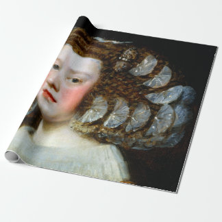 Diego Velázquez María Teresa, Infanta of Spain Wrapping Paper