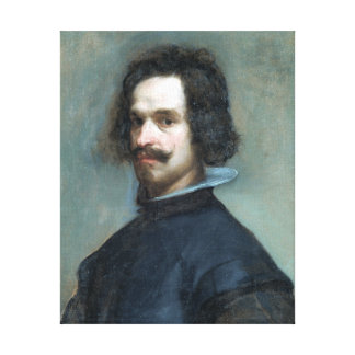 Diego Velázquez Portrait of a Man Canvas Print