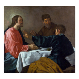 Diego Velázquez The Supper at Emmaus Poster
