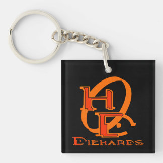 Diehards Gamer Graphic Keychain