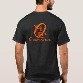 Diehards Gamer Graphic on Back T-Shirt