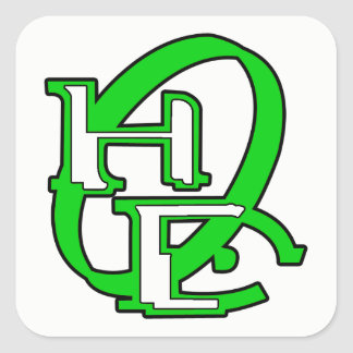 Diehards Gamer Graphic Square Sticker