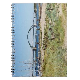 Diesel ICE on the Fehmarnsundbrücke Notebook
