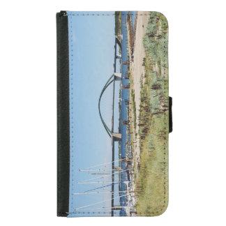Diesel ICE on the Fehmarnsundbrücke Samsung Galaxy S5 Wallet Case