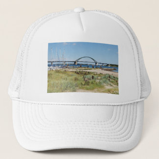 Diesel ICE on the Fehmarnsundbrücke Trucker Hat