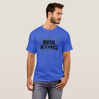 Diesel is king blue shirt